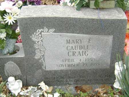 CAUDLE CRAIG, MARY E. - Washington County, Arkansas | MARY E. CAUDLE CRAIG - Arkansas Gravestone Photos
