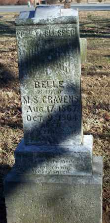 CRAVENS, BELLE - Washington County, Arkansas   BELLE CRAVENS - Arkansas Gravestone Photos