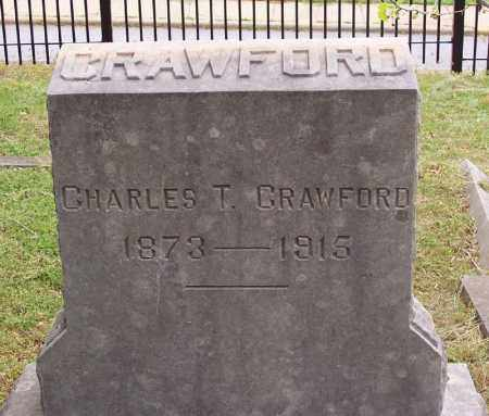 CRAWFORD, CHARLES T. - Washington County, Arkansas   CHARLES T. CRAWFORD - Arkansas Gravestone Photos