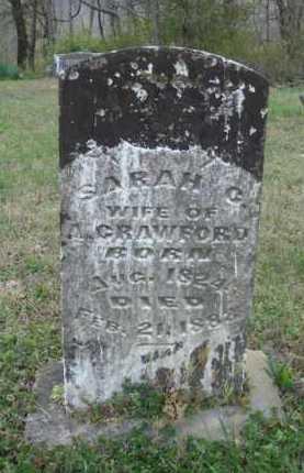 CRAWFORD, SARAH C. - Washington County, Arkansas | SARAH C. CRAWFORD - Arkansas Gravestone Photos