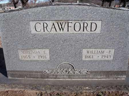 CRAWFORD, WILLIAM P. - Washington County, Arkansas | WILLIAM P. CRAWFORD - Arkansas Gravestone Photos