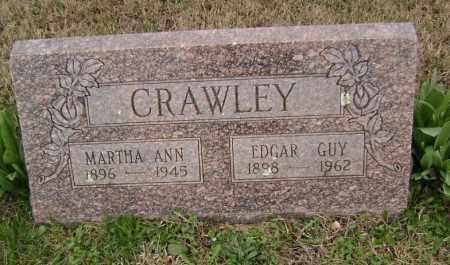 CRAWLEY, MARTHA ANN - Washington County, Arkansas | MARTHA ANN CRAWLEY - Arkansas Gravestone Photos