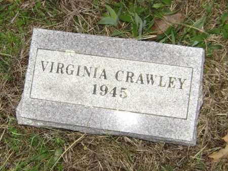 CRAWLEY, MARY VIRGINIA - Washington County, Arkansas | MARY VIRGINIA CRAWLEY - Arkansas Gravestone Photos