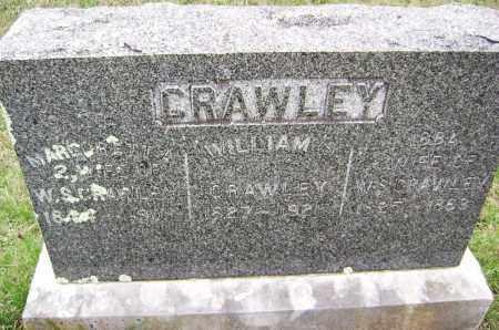 CRAWLEY, WILLIAM S. - Washington County, Arkansas | WILLIAM S. CRAWLEY - Arkansas Gravestone Photos