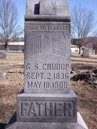 CRUDUP, G.S. - Washington County, Arkansas | G.S. CRUDUP - Arkansas Gravestone Photos