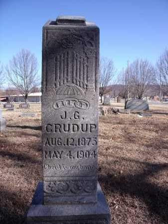 CRUDUP, J G - Washington County, Arkansas | J G CRUDUP - Arkansas Gravestone Photos