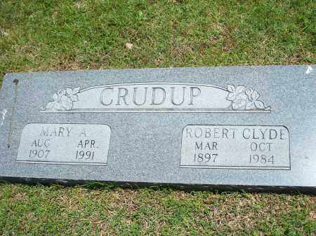 CRUDUP, ROBERT CLYDE - Washington County, Arkansas | ROBERT CLYDE CRUDUP - Arkansas Gravestone Photos