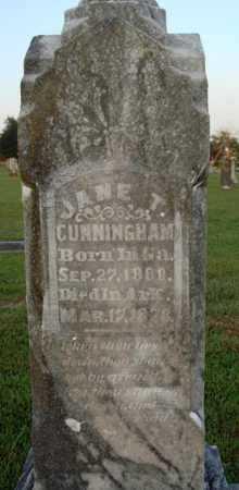 CUNNINGHAM, MARY JANE - Washington County, Arkansas   MARY JANE CUNNINGHAM - Arkansas Gravestone Photos