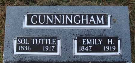 CUNNINGHAM, EMILY H. - Washington County, Arkansas | EMILY H. CUNNINGHAM - Arkansas Gravestone Photos