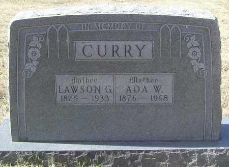 CURRY, LAWSON G - Washington County, Arkansas   LAWSON G CURRY - Arkansas Gravestone Photos