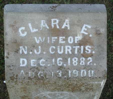 CURTIS, CLARA E. - Washington County, Arkansas | CLARA E. CURTIS - Arkansas Gravestone Photos