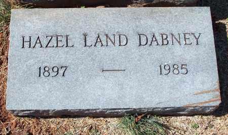 DABNEY, HAZEL - Washington County, Arkansas | HAZEL DABNEY - Arkansas Gravestone Photos