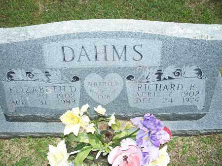 DAHMS, ELIZABETH D. - Washington County, Arkansas | ELIZABETH D. DAHMS - Arkansas Gravestone Photos