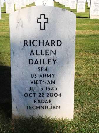 DAILEY  (VETERAN VIET), RICHARD ALLEN - Washington County, Arkansas   RICHARD ALLEN DAILEY  (VETERAN VIET) - Arkansas Gravestone Photos