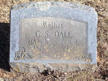 DALE, G. S. - Washington County, Arkansas | G. S. DALE - Arkansas Gravestone Photos