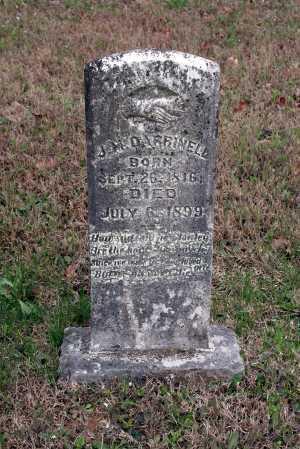 DARRINELL, J. M. - Washington County, Arkansas   J. M. DARRINELL - Arkansas Gravestone Photos