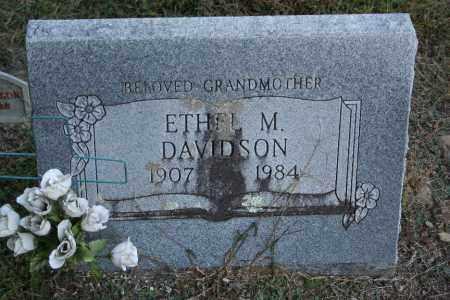 DAVIDSON, ETHEL M. - Washington County, Arkansas | ETHEL M. DAVIDSON - Arkansas Gravestone Photos