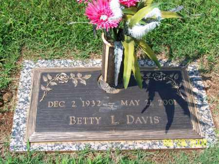 DAVIS, BETTY - Washington County, Arkansas | BETTY DAVIS - Arkansas Gravestone Photos