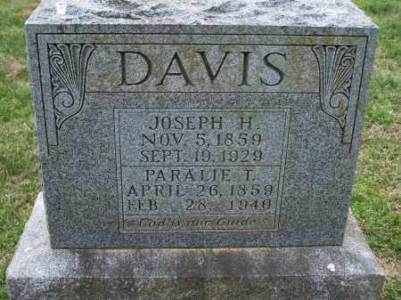 DAVIS, JOSEPH H. - Washington County, Arkansas | JOSEPH H. DAVIS - Arkansas Gravestone Photos