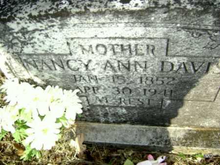 DAVIS, NANCY ANN - Washington County, Arkansas   NANCY ANN DAVIS - Arkansas Gravestone Photos