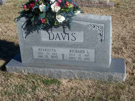 DAVIS, RICHARD L. - Washington County, Arkansas | RICHARD L. DAVIS - Arkansas Gravestone Photos