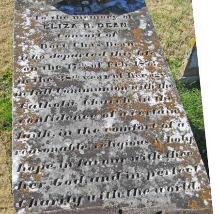 DEAN, ELIZA R. - Washington County, Arkansas   ELIZA R. DEAN - Arkansas Gravestone Photos