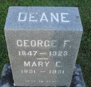 DEANE, MARY ELIZABETH - Washington County, Arkansas | MARY ELIZABETH DEANE - Arkansas Gravestone Photos