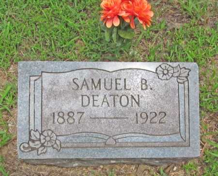 DEATON, SAMUEL B. - Washington County, Arkansas   SAMUEL B. DEATON - Arkansas Gravestone Photos