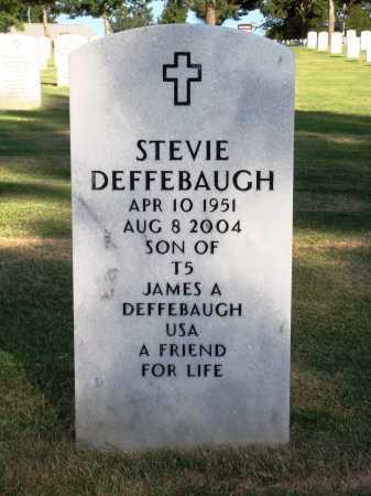 DEFFEBAUGH, STEVIE - Washington County, Arkansas | STEVIE DEFFEBAUGH - Arkansas Gravestone Photos