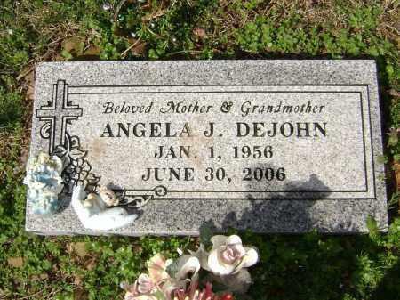 DEJOHN, ANGELA J. - Washington County, Arkansas   ANGELA J. DEJOHN - Arkansas Gravestone Photos