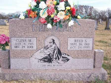 DELOZIER, CLEVA M. - Washington County, Arkansas | CLEVA M. DELOZIER - Arkansas Gravestone Photos