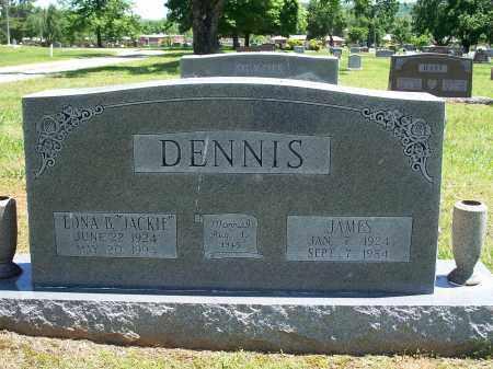 "DENNIS, EDNA B. ""JACKIE"" - Washington County, Arkansas | EDNA B. ""JACKIE"" DENNIS - Arkansas Gravestone Photos"