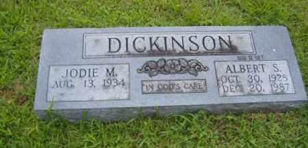 DICKINSON, ALBERT S. - Washington County, Arkansas | ALBERT S. DICKINSON - Arkansas Gravestone Photos