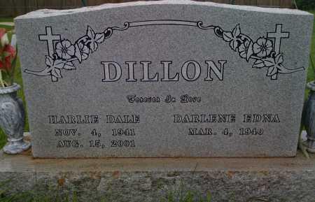 DILLON, HARLIE DALE - Washington County, Arkansas | HARLIE DALE DILLON - Arkansas Gravestone Photos