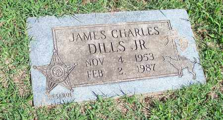 DILLS, JAMES CHARLES, JR. - Washington County, Arkansas | JAMES CHARLES, JR. DILLS - Arkansas Gravestone Photos