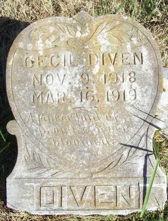 DIVEN, CECIL - Washington County, Arkansas | CECIL DIVEN - Arkansas Gravestone Photos