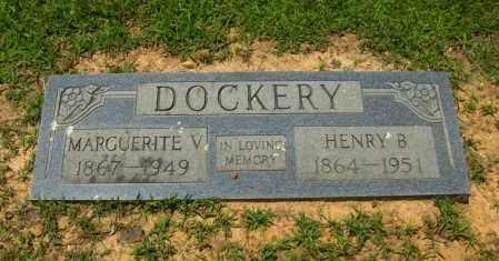 DOCKERY, MARGURITE V. - Washington County, Arkansas | MARGURITE V. DOCKERY - Arkansas Gravestone Photos