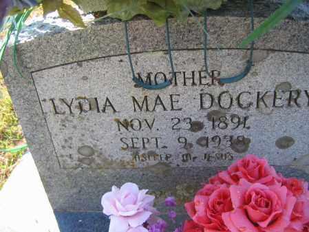 RATLIFF DOCKERY, LYDIA MAE - Washington County, Arkansas   LYDIA MAE RATLIFF DOCKERY - Arkansas Gravestone Photos