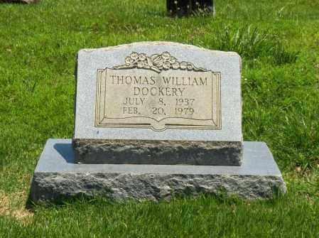 DOCKERY, THOMAS WILLIAM - Washington County, Arkansas | THOMAS WILLIAM DOCKERY - Arkansas Gravestone Photos
