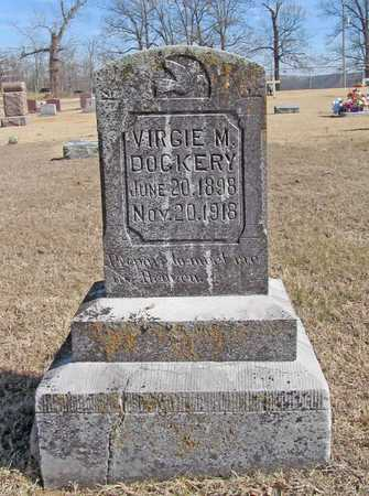 DOCKERY, VIRGIE MALINDA - Washington County, Arkansas | VIRGIE MALINDA DOCKERY - Arkansas Gravestone Photos