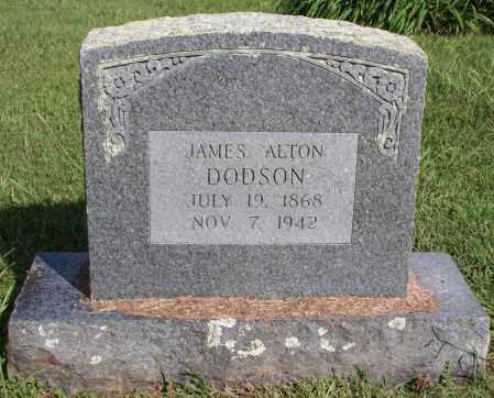 DODSON, JAMES ALTON - Washington County, Arkansas | JAMES ALTON DODSON - Arkansas Gravestone Photos