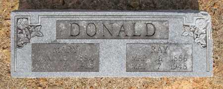 DONALD, MARY - Washington County, Arkansas   MARY DONALD - Arkansas Gravestone Photos