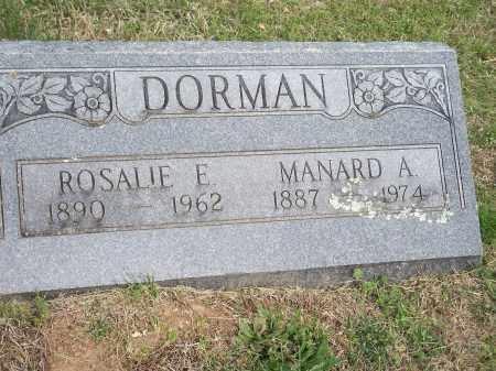 DORMAN, MANARD ANTHONY - Washington County, Arkansas | MANARD ANTHONY DORMAN - Arkansas Gravestone Photos