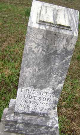 DOTSON, ERIE OTT - Washington County, Arkansas | ERIE OTT DOTSON - Arkansas Gravestone Photos