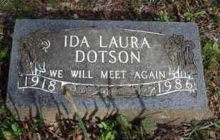DOTSON, IDA LAURA - Washington County, Arkansas | IDA LAURA DOTSON - Arkansas Gravestone Photos