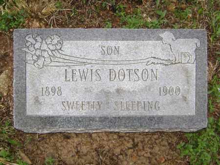 DOTSON, LEWIS - Washington County, Arkansas | LEWIS DOTSON - Arkansas Gravestone Photos