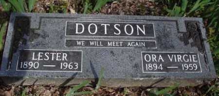 DOTSON, LESTER - Washington County, Arkansas | LESTER DOTSON - Arkansas Gravestone Photos