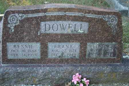 DOWELL, BESSIE - Washington County, Arkansas | BESSIE DOWELL - Arkansas Gravestone Photos