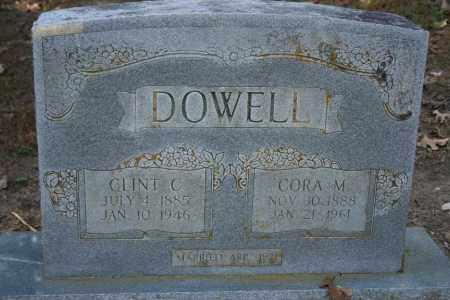 DOWELL, CLINT C. - Washington County, Arkansas | CLINT C. DOWELL - Arkansas Gravestone Photos