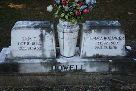 DOWELL, EMMA - Washington County, Arkansas | EMMA DOWELL - Arkansas Gravestone Photos